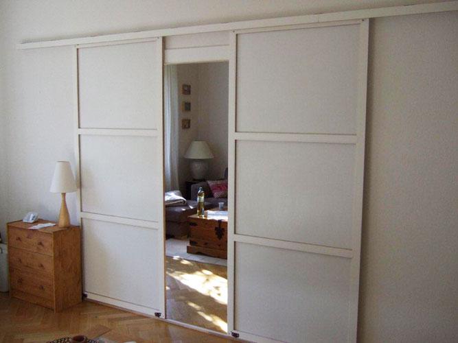 Een scheidingswand in uw woonkamer is ideaal als u regelmatig thuis ...