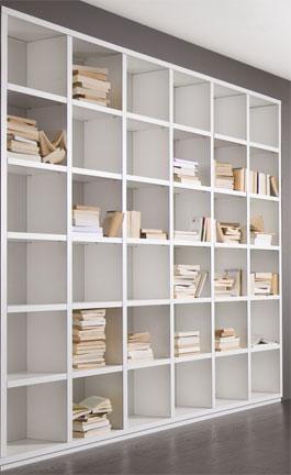 Open boekenkast of met schuifdeuren?