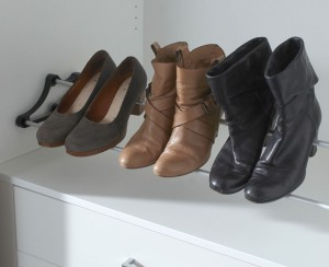 schoenenrek in kledingkast