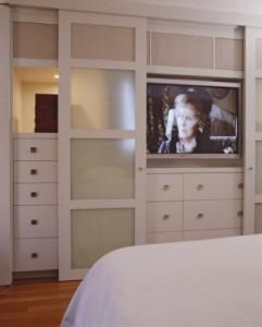 televisie in slaapkamer