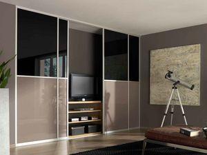 wandkast woonkamer zwart