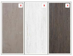 kastdeuren met hout decor